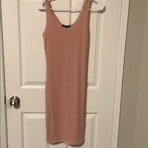 Rose pink bodycon